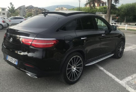 2016 Mercedes Benz GLE COUPE 350D FASC DVD ALL BLA