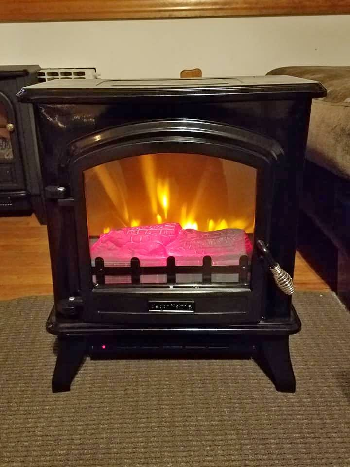 Fireplace heater