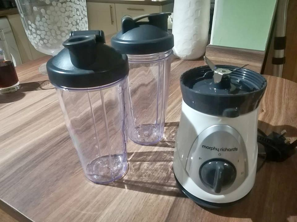 Morphy Richards blender (still for sale)