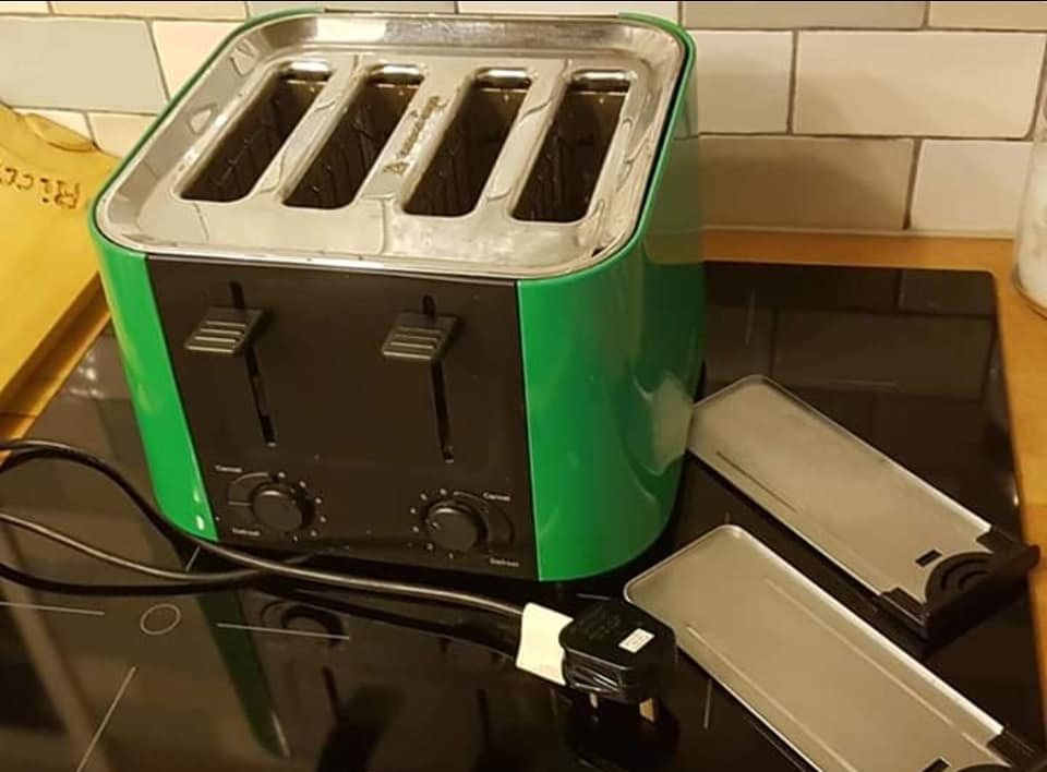 Prestige toaster 4 slices