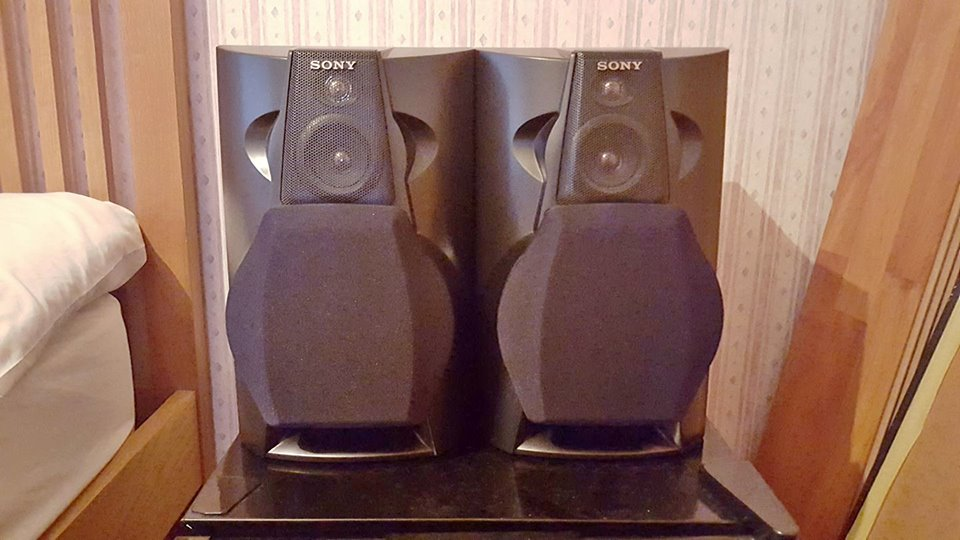 Sony SS-L80 Reflex loud speakers