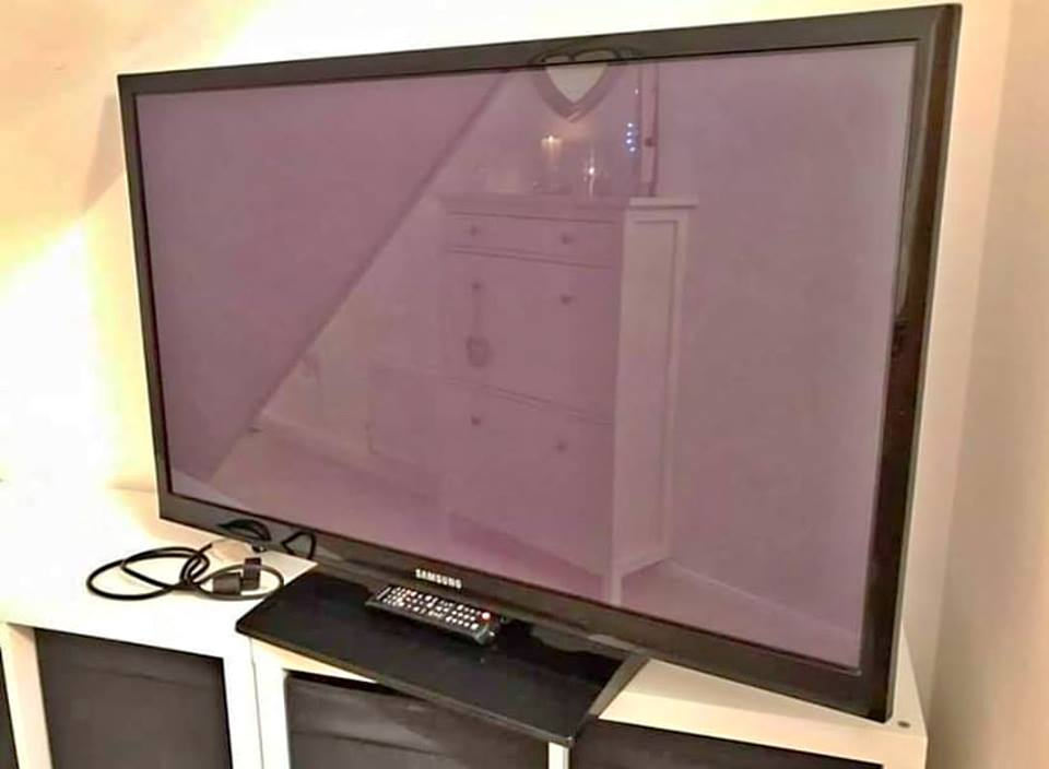 tv Samsung 55inch good working