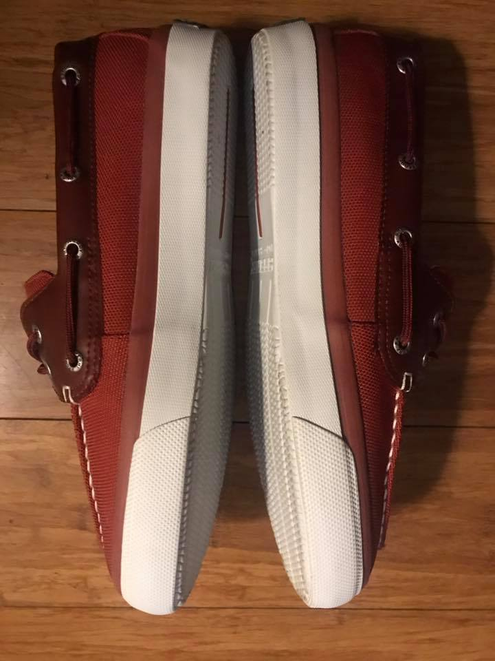 Mens Red Sperry'
