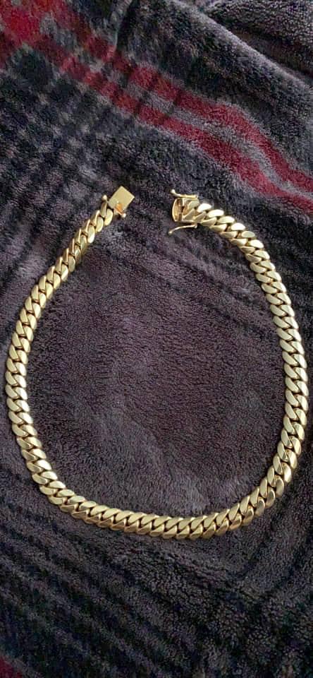 10 k gold chain