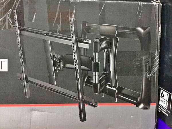 "TV wall mount 40-75"" full motion rocketfish"