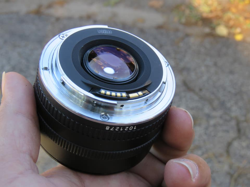 "Canon EF 50mm 1:1.8 ""Nifty Fifty"" Excellent Condit"