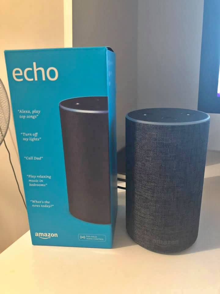 Brand new AMAZON ECHO