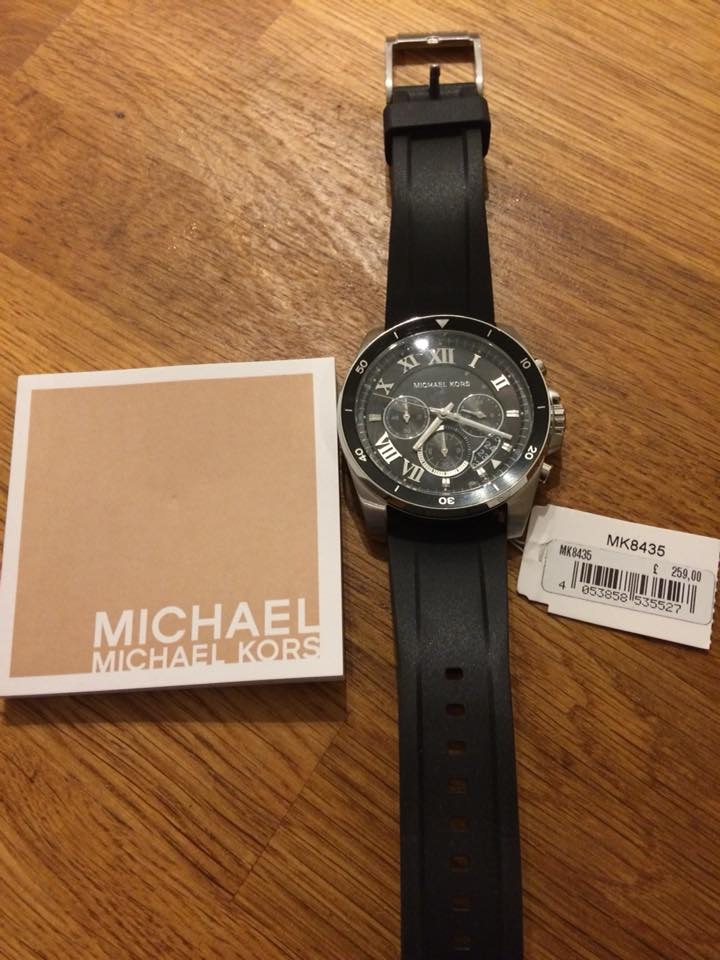 BNWT Michael Kors men's watch