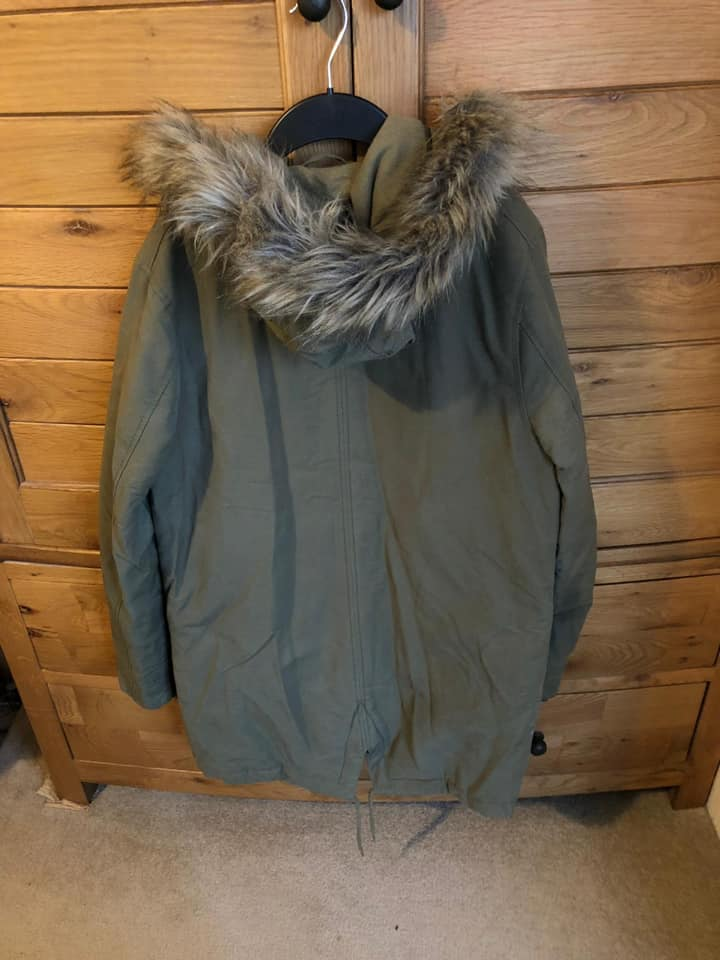 Men's Topman Parka