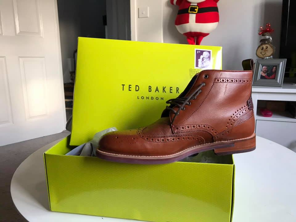 Ted baker brogue boots size uk 11