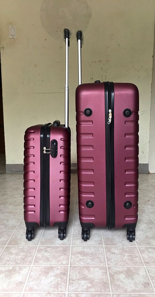 Brand New 2 pcs Carry-On Luggage Suitcases