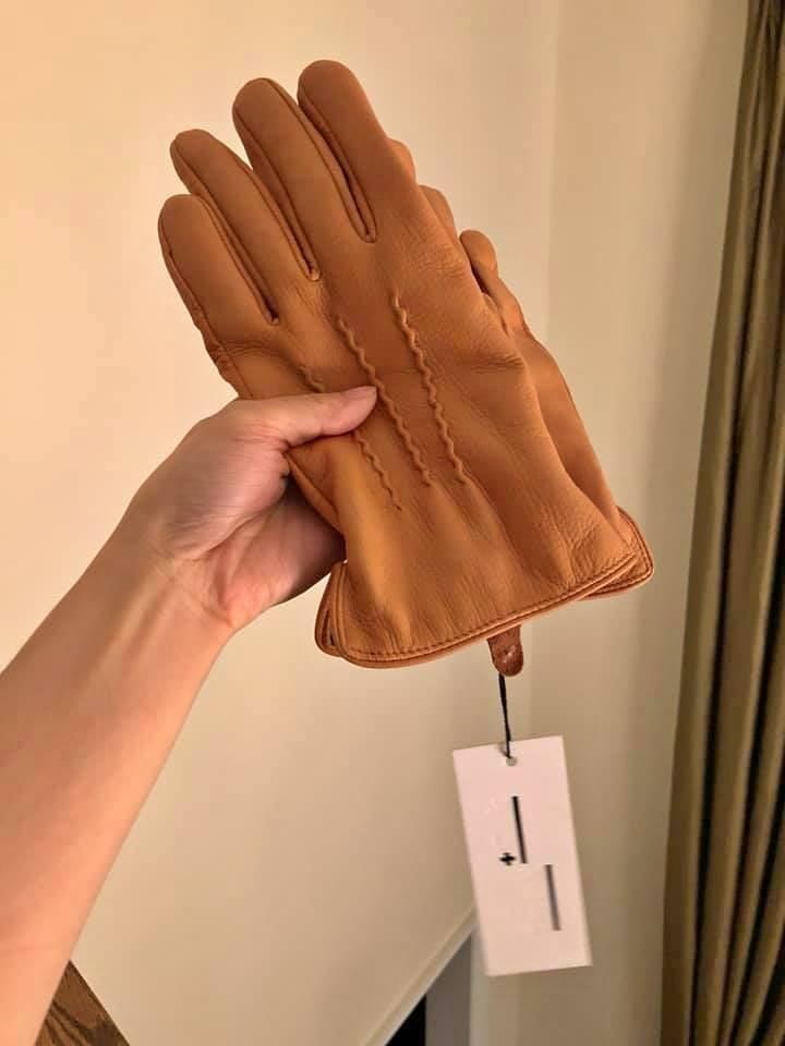 Frank and Oak Men's Genuine Leather Gloves