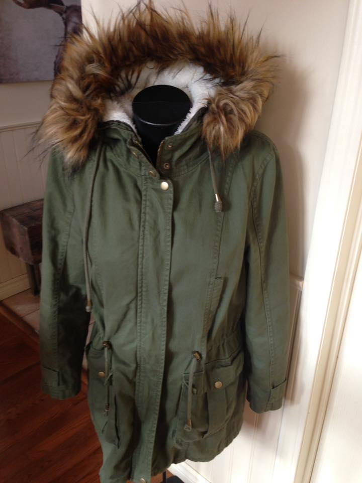 Women's L Cargo Coat