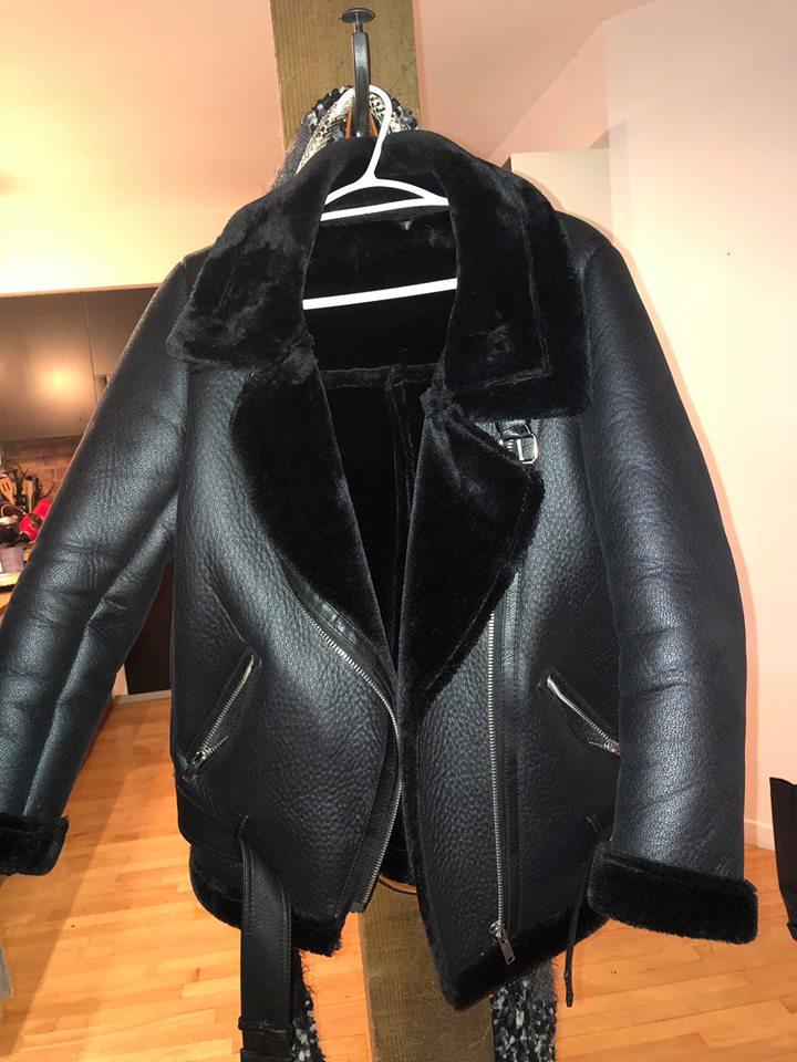 Biker coat size small